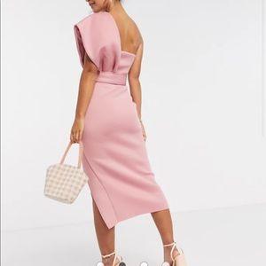 ASOS DESIGN one shoulder dress